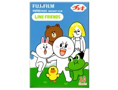 FUJIFILM instax mini Line Friends 綠盒版 拍立得底片
