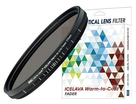 STC ICELAVA Warm-to-Cold Fader 色溫升降濾鏡 82mm